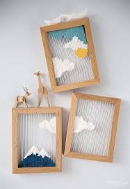 DIY String Art Projects - Framed String Art - Cool, Fun and Easy Letters,