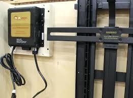 diy tv lift cabinet the lift mechanism installed diy outdoor tv lift cabinet