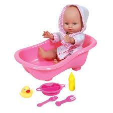 doll bath set zoom