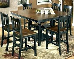 black dining room table set dining table set dining room sets furniture furniture pub table set