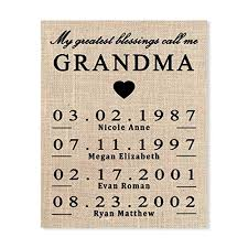 gift for grandma personalized gift for grandma grandma birthday gift mothers day gift