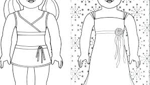 American Girl Doll Coloring Sheets Girl Coloring Pages To Print Girl