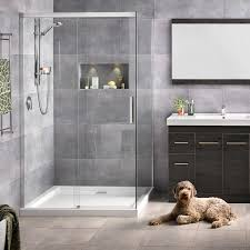motio 1200x1000 2 sided shower on tiled wall rrp 2830