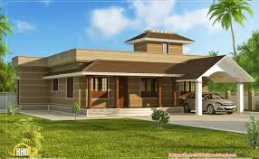 Single floor home design kerala plans