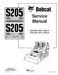 s205 bobcat wiring diagram simple wiring diagram site bobcat s205 skid steer loader service repair manual s n 528411001 a bobcat t300 wiring diagram s205 bobcat wiring diagram