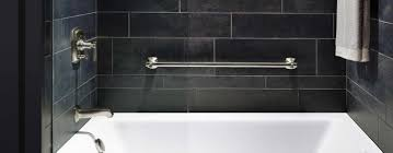 bathtub home depot and black wall ceramic also rod wall mount