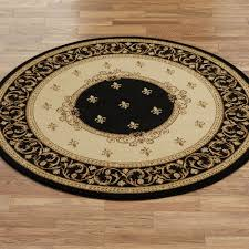 monarch medallion round rug 5 3