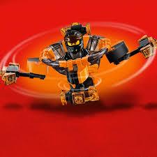 Con Quay Lốc Xoáy Đất - Lego Ninjago - 70662 (117 Chi Tiết)