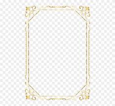 Free Png Download A4 Certificate Border Design Png