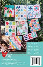 Mini Quilt Patterns Simple Mini Quilts Booklet 48 PDF Pattern Cluck Cluck Sew