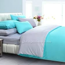 teal gray bedding and gray duvet cover solid bedding purple teal grey baby bedding