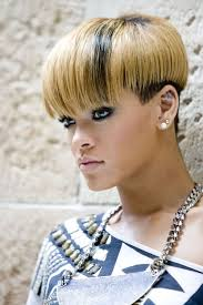 rihanna and blonde image hairstyle