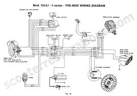 scooter restorations lambretta scooter spares wiring harness li125 series 2 pre mod wiring diagram