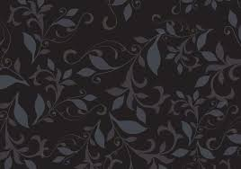 Black Pattern Background Mesmerizing Dark Floral Pattern Background Vector Download Free Vector Art