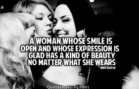 Famous Quotes About Beautiful Women Best of Smile Picture Quotes Famous Quotes And Sayings About Smile With