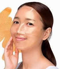 <b>Гидрогелевая маска для лица</b> с золотом Petitfee Gold Hydrogel ...