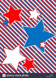 Star Framework Blue Patriotic Frame White Red Framework Border Star Blue
