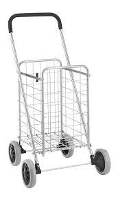 Chart Cart On Wheels Amazon Com Oe Sr Shopping Cart 4 Wheel Durable Shopping