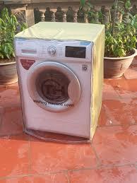 Áo trùm máy giặt cửa ngang vải dù