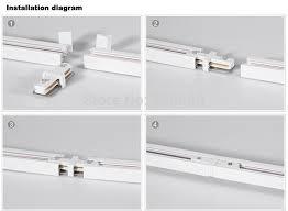 track lighting rails. 1M Led Track Light Rail Lighting Fixture For  Universal Rails,track Lamp Track Lighting Rails