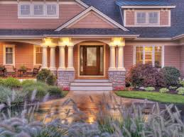 ... Gorgeous Front Porch Design With Various Front Step Ideas : Astonishing Front  Porch Design And Decoration ...