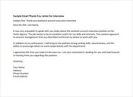 Interview Follow Up Letter Best Solutions Of Thank You Letter After