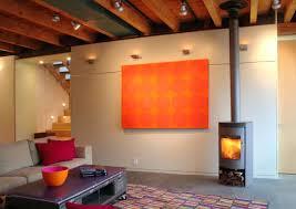 unfinished basement lighting ideas. Basement Lighting Ideas Industrial Idea Unfinished Ceiling