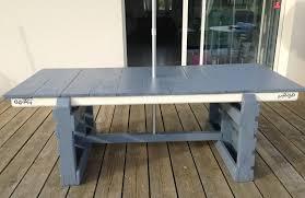 Tuto Cr Ation D Une Table De Jardin Table D Exterieur Avec