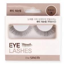 <b>Накладные ресницы</b> The Saem <b>Eyelashes</b>: отзывы, инструкция ...