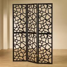 Small Picture Accessories Extraordinary Black Metal 3 Panel Folding Screen