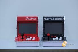 Máy game box mini Supreme 1388 trò tích hợp 2 màn hình