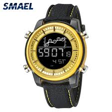 <b>SMAEL Quartz Men's Watches</b> lovers Oversize LED Digital Fashion ...