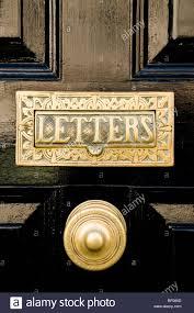 br letterbox and door handle black door