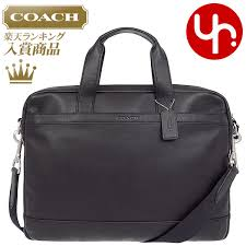 coach coach bag business bag f71561 black coach hudson smooth leather briefcase products at s