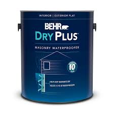 Waterproofing Paint For Basement And Masonry Dryplus