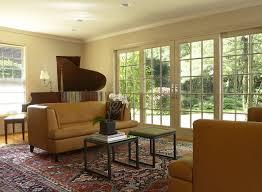 photos of sliding glass doors living room