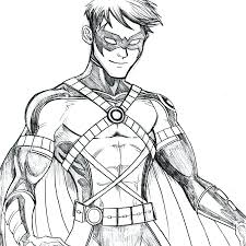 Free Printable Nightwing Coloring Pages For Kids Lego Wings Of Fire