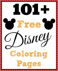 Free Printable Disney Coloring Sheets With 101 Free Printable Disney