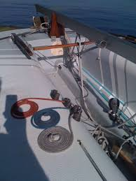 Balance of boat in excellent condition with canvased deck painted and mahogany rub rail. M Scow Blue Chip Edition Found This In Ma While Looking For A Mast For My Other M Scow Sailing Masts Boat