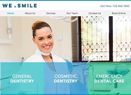 Dentist Website Template Wix