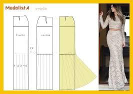Mermaid Skirt Pattern Enchanting Long Morticia Skirt Pattern Womens Sewing Pattern Drafting