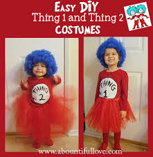the girls absolutely loves the cat in the hat and some of dr seuss s books thing 1 and thing 2 are the perfect costume for siblings too
