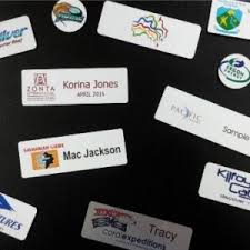 Sample Name Badge Custom Engraved Or Printed Name Badges Pantographic Engraving