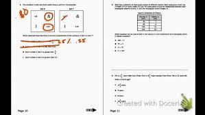 12 Staar Math Sample Question 8th Grade Staar Math