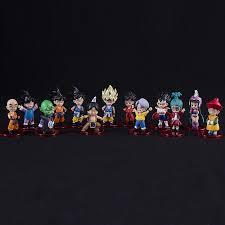 <b>13pcs</b>/<b>set Dragon Ball</b> Z Son Goku Gohan Goten Bulma Buruma ...