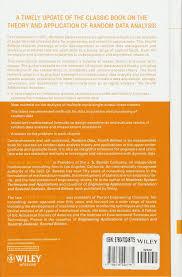 random data analysis and measurement procedures wiley series in random data analysis and measurement procedures wiley series in probability and statistics amazon co uk julius s bendat allan g piersol