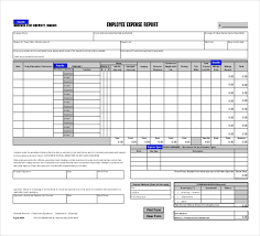 8+ Expense Report Template - Free Word, Excel, PDF Documents ...