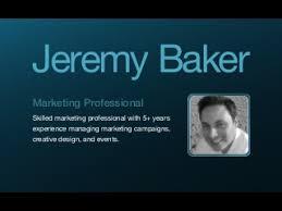 resume linkedin chief baker resume