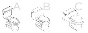 elongated bowl toilet dimensions. bidet template - print in 6 a4 papers to use it as a single page elongated bowl toilet dimensions