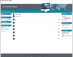 moodle templates free moodle themes global network by themza